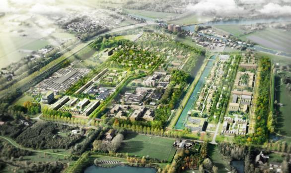 Stadsverwarming en WKO Vattenfall